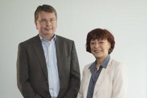 Prof. Dr. Stephan Ory und Ikbal Berber