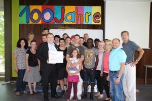 Spendenübergabe Schule am Ludwigsberg