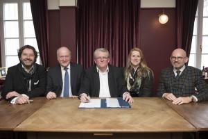 Unterzeichnung Co-Developmentabkommen