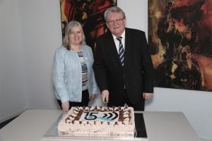 Dr. Gerd Bauer und Karin Bickelmann