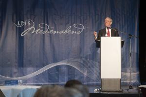 Medienabend LMS mit Uwe Conradt am Montag (04.07.2016) in Saarbrücken.